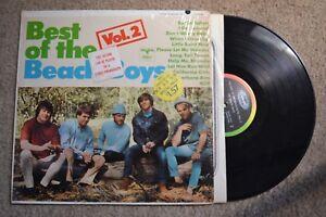 Beach-Boys-Best-Of-Vol-2-3-MIXED-w-sticker-mono-Record-lp-original-vinyl-shrink