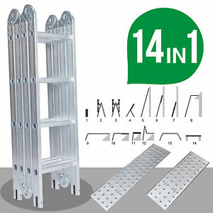 4-75M-Multipurpose-Aluminium-Foldable-Extension-Ladder-4x4-Includes-2-Platforms