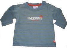 Bfc tolles Langarm Shirt Gr. 68 blau geringelt !!
