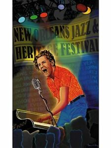 New Orleans Jazz Fest Poster 2007 Low Numbered MINT Condition