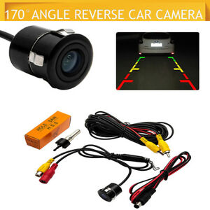Etanche-170-Voiture-HD-Camera-De-Recul-Retroviseur-Nuit-Vision-Parking-Inverse