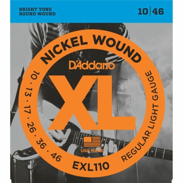 D'Addario EXL110 Regular Light 010-046