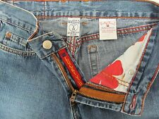LUCKY BRAND DUNGAREES Women's Jeans #156 Peanut Pant Lwr Rise Flare Long Sz 6/28