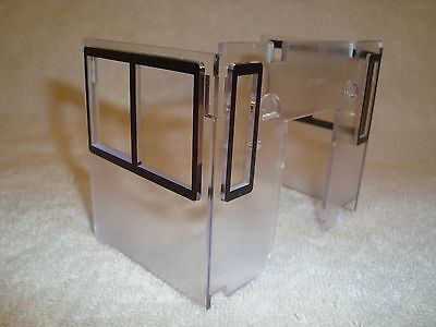 Other G Scale Lgb 20620 20630 Series Diesel Switcher Loco Cab Window Insert Part W/black Frame Customers First Toys & Hobbies