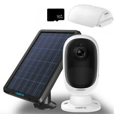 Wireless Security IP Camera Rechargeable Battery Solar Powered Waterproof Argus2