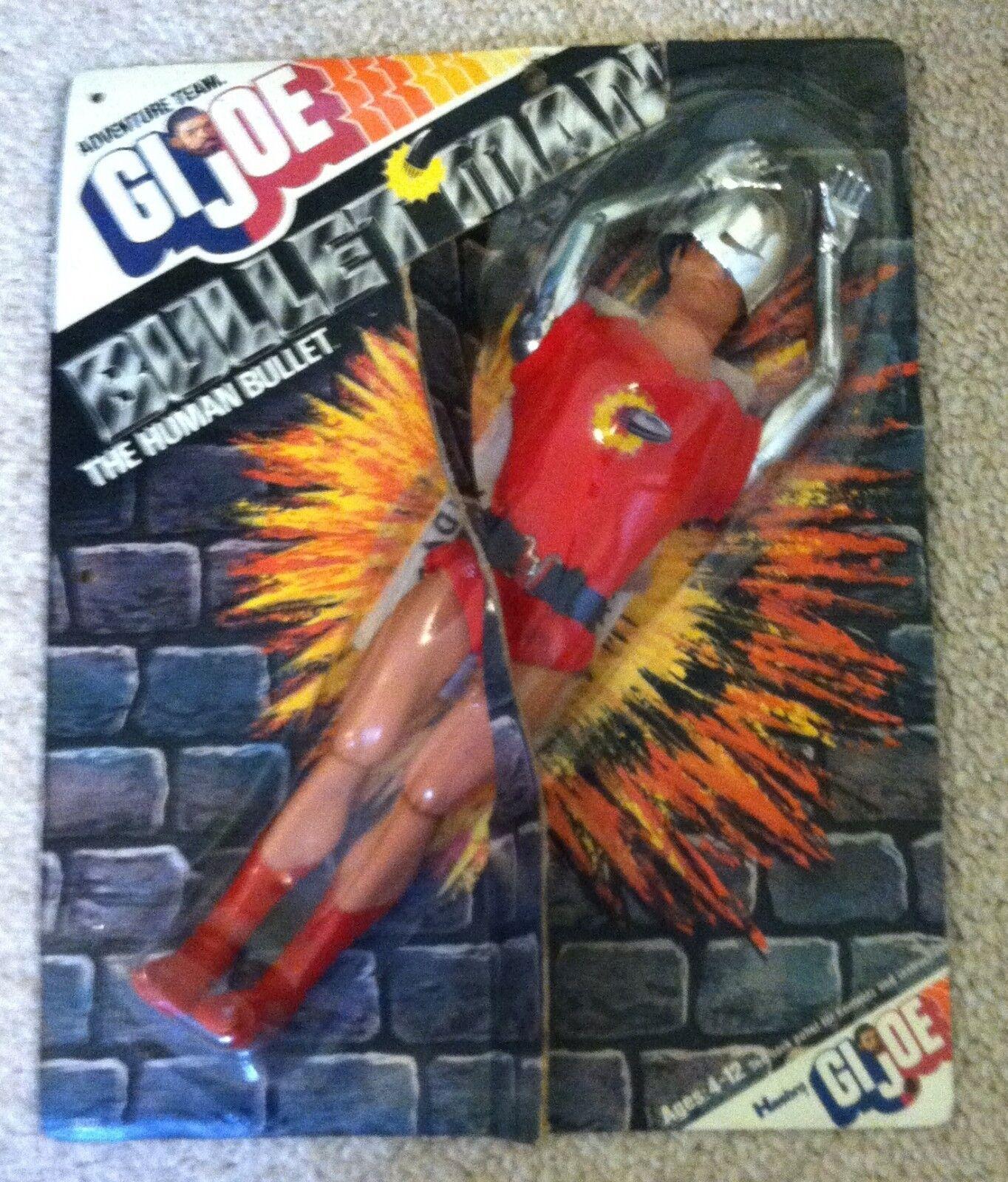 1976 HASBRO Gi Joe Bulletman la bala humana humana humana 8026 con paquete  ventas de salida