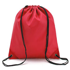 a2945ae440 Drawstring Sport Swim Shoes Dance Bag Schoolbag Boys Girls Backpack PE Gym  Bags