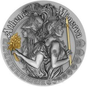 2019-5-Niue-ATHENA-AND-MINERVA-Strong-and-Beautiful-Goddesses-2-Oz-Silver-Coin