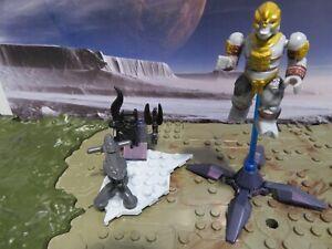 Mega Bloks Halo Covenant Weapons Pack II Set #97359 Gold Brute