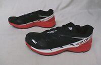Salomon Men's S-lab Wings 8 Sg Running Shoes 391959 Black/red/white Gg8 Size 9