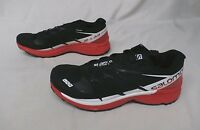Salomon Men's S-lab Wings 8 Sg Running Shoes 391959 Black/red/white Gg8 Size 9