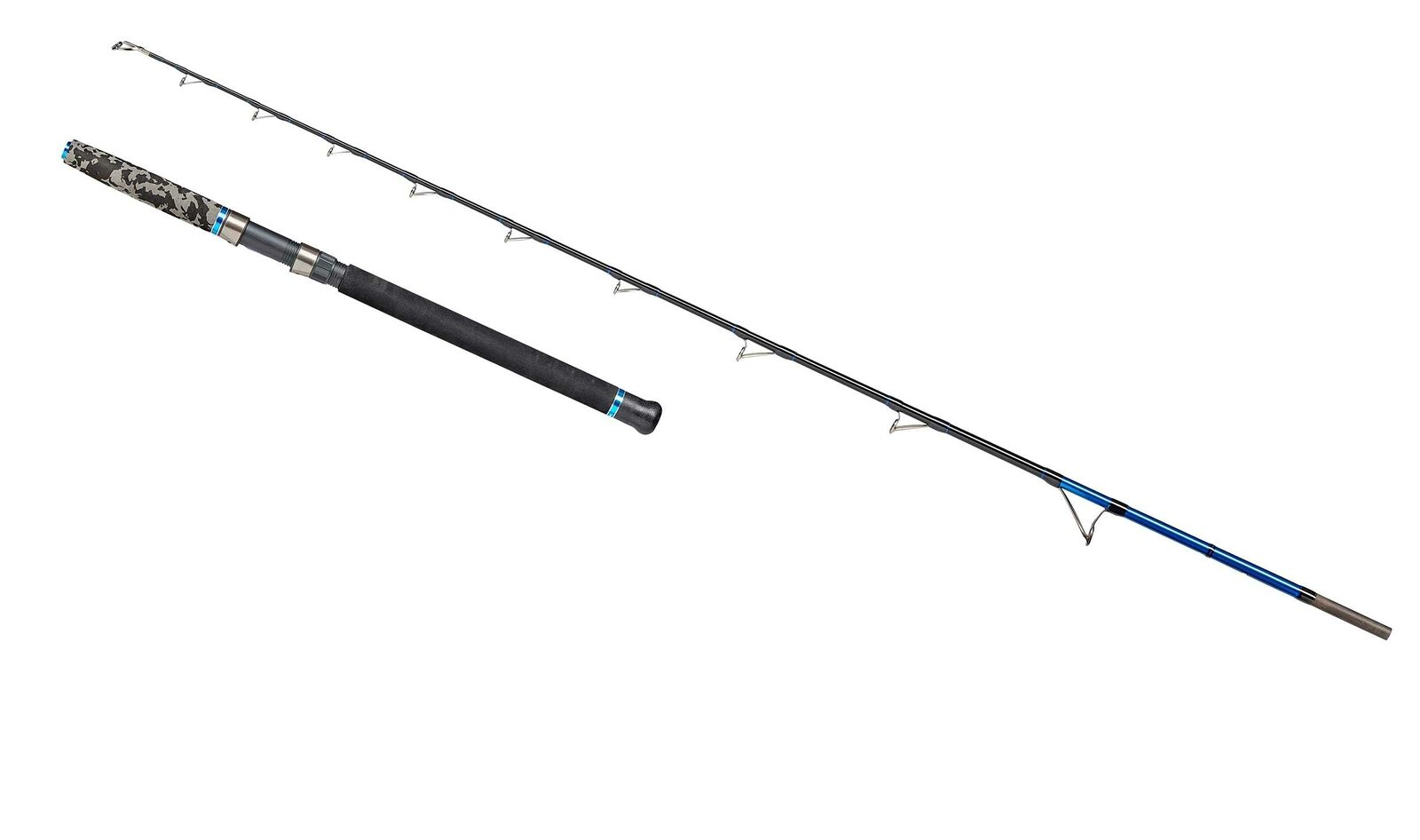 Dam steelpower azul naturaleza 2,10m 300-800g naturaleza cebo vara halibut rod Low Rider