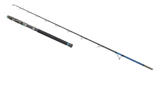 DAM Steelpower Blue Natur 2,10m 300-800g Naturköderrute Halibut Rod Low Rider