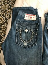 4 Pairs of True Religion Men's Jeans 34 and 36 waist - all 32 inseam