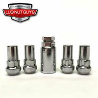 Lug Wheel Lock Nuts 14x2.0 Bulge Acorn Locking Lugs 14x2 Ford F150