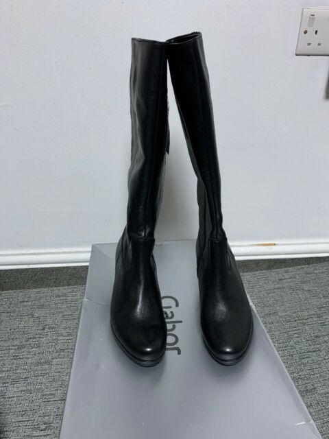 half off save off super cheap Gabor Nadine S Gabor Slim Leg Long Boot 5 Navy for sale   eBay
