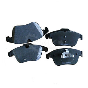 Ceramic Brake Pads with 2 Years Manufacturer Warranty Both Left and Right 2012 For Land Rover Range Rover Evoque Front Set