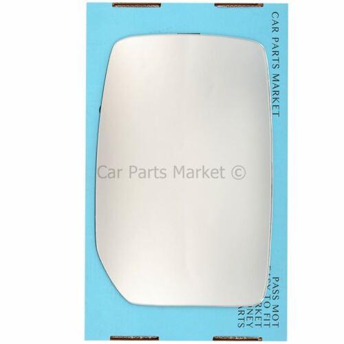 Derecho Lado Del Conductor Cristal Espejo Plano Para Ford Transit Tourneo 2000-14 Calor Placa