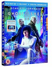 Ghost in the Shell (3D Edition with 2D Edition + Digital Download) [Blu-ray]