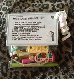 Marriage Survival Kit - Unusual Novelty Wedding Gift Or Anniversary ...