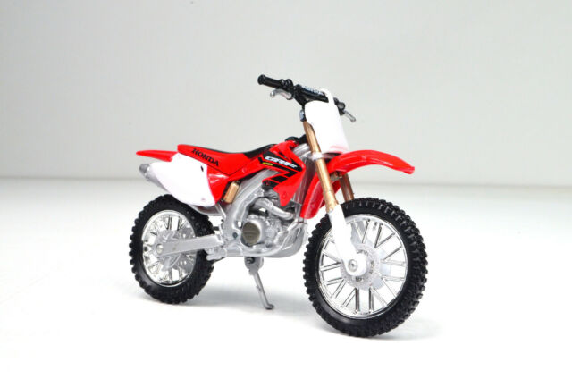 Honda CRF 450R Rot Weiss 2017 1//12 New Ray Modell Motorrad mit oder ohne indiv..