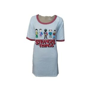 Stranger-Things-pixel-video-game-t-shirt-New-with-Tags-Juniors-L-11-13