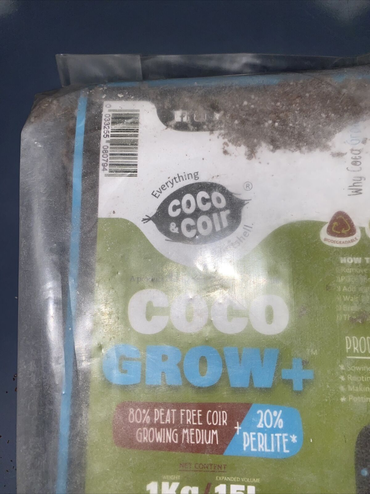 Coco & Coir Coco Grow + 80% Peat Free Coir Growing Medium & 20% Perlite Compost