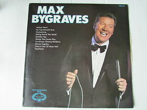 VINYL-LP-MAX-BYGRAVES-1968-HALLMARK-HMA242-FIRST-PRESS-A1-B1-VINYL-NR-MINT
