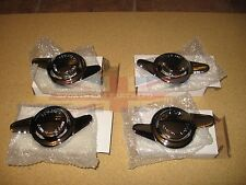 New Set of 4 Knock-Off Knockoff Nuts Nut for Wire Wheels Triumph TR2 TR3 TR4 TR6