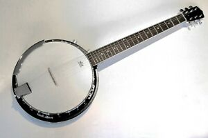 BANJO-6-STRING-ELECTRO-ACOUSTIC-BANJO-NEW-BY-CLEARWATER