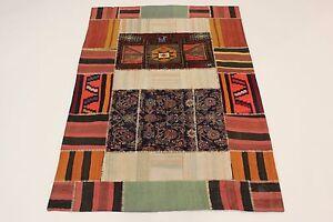 Antik Look Nomaden Kelim Patchwork Perser Teppich Orientteppich 2,07 X 1,50 - Hamburg, Deutschland - Antik Look Nomaden Kelim Patchwork Perser Teppich Orientteppich 2,07 X 1,50 - Hamburg, Deutschland