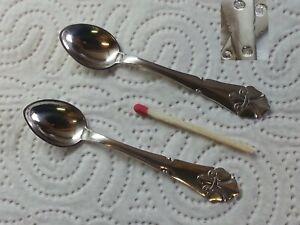 Fransk-Lilje-Lilje-830er-daenisches-Silber-2-Salzloeffel