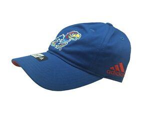 NCAA Kansas Jayhawks Youth Boys (8-20) Hat Cap One size fits Most Adidas New