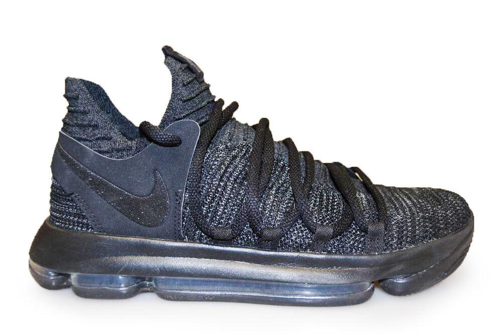 Homme Nike ZOOM KD10 - 897815004-Triple Noir Baskets-
