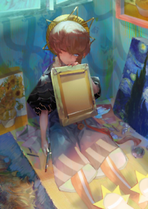 Fate Grand Order FGO Van Gogh NP3 0-100SQ starter account JP Details about  /