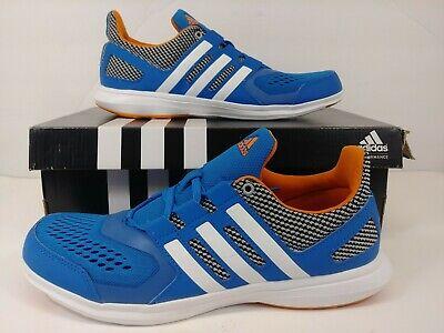 Adidas Hyperfast 2.0 K Blue Athletic Sport Running Shoe AQ3880 Kids Boys Size 7 | eBay