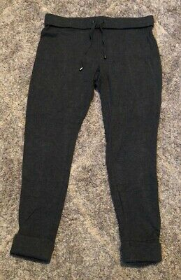 Marc New York Performance Womens Marled Sweater-Knit Jogger Pant