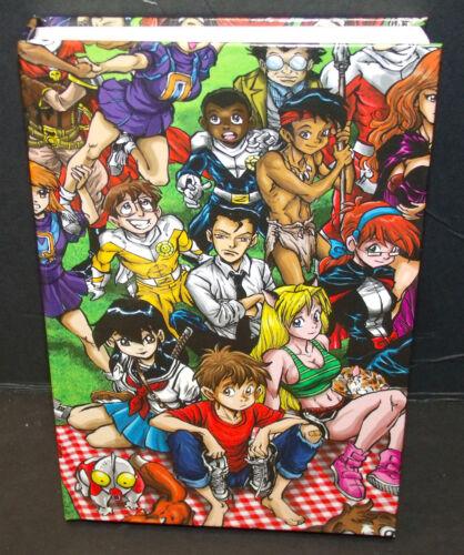 Ben Dunn NINJA HIGH SCHOOL vol.2 Kickstarter Exclusive 1st prints HARDCOVER