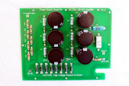 SB-201 Amp NEW Power Supply Board for Heathkit SB-200 Assembled in USA