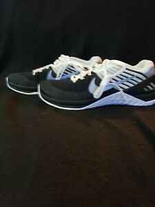 Nike Metcon DSX Flyknit Cross Fit Training Shoes Black White 852930-005 SZ 9 NWT