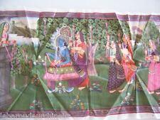 Ancienne peinture sur tissus . Inde