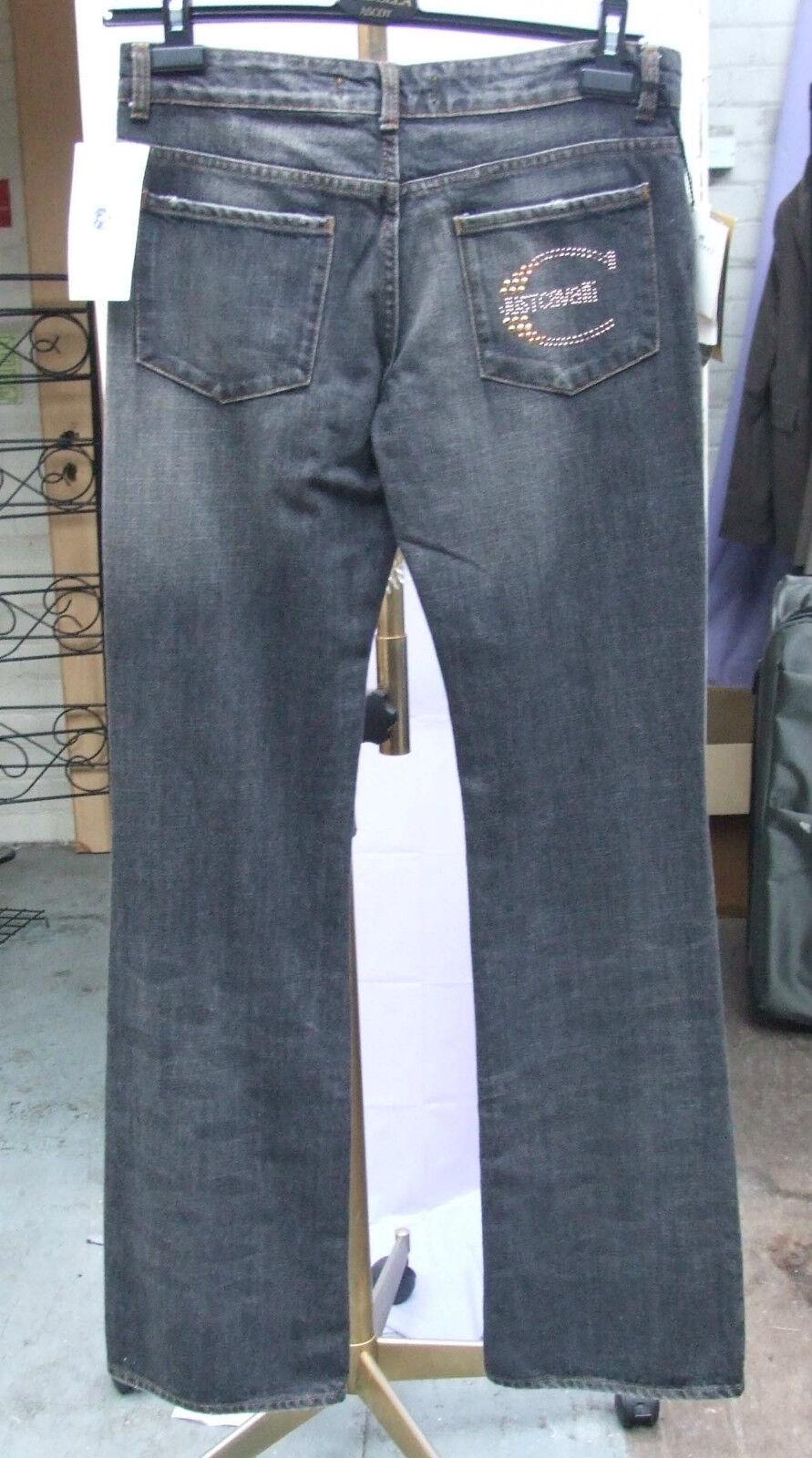 BNWT Roberto Cavalli 28  Gorgeous Designer Blau Jeans Fabulous Fit Studded C NEW