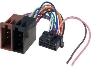 sony mdx c800rec car radio stereo mini disc player wiring harness rh ebay com