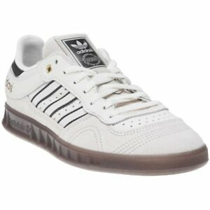 best loved c9b47 03f98 Image is loading New-MENS-ADIDAS-WHITE-NATURAL-HANDBALL-TOP-SUEDE-