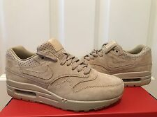 Womens Nike Air Max 1 Pinnacle Lab Wheat Linen Tan Gum Brown 839608-200 Size 6.5
