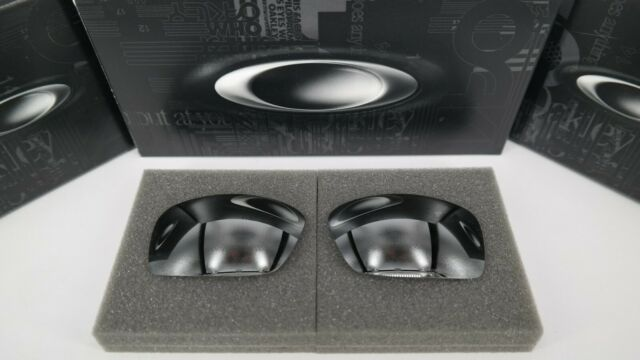New Oakley SQUARE WIRE CHROME IRIDIUM POLAR OO4075 Replacement Lens Authentic
