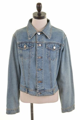 Cotton 18 Denim Blue Womens Jacket Hs09 Xl Taglia Richmond P0qfF
