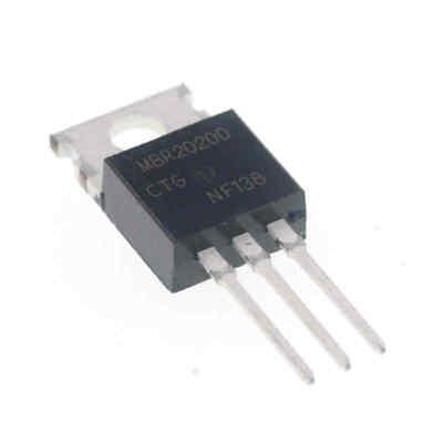 2PCS MBRF20200CT B20200G 20A 200V AKA Dual High-Voltage Power Schottky TO-220F