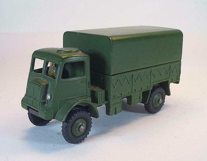 Dinky TOYS SUPERTOYS NO 623 Army Wagon Truck PR PL Olive Green Military 1  6603