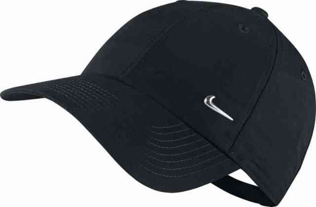 Nike Unisex Cap Summer Hat Metal Swoosh H86 Black  943092 010 for ... 09f6c21f54fa